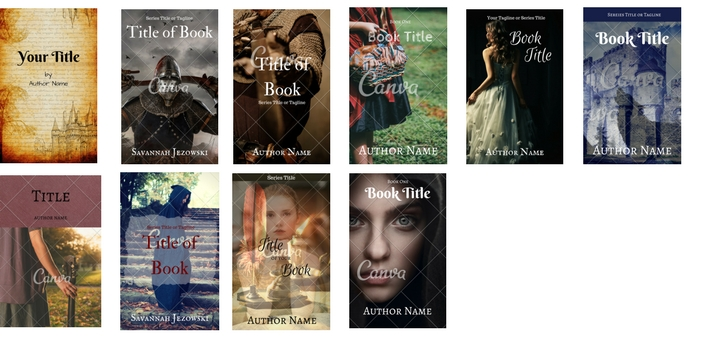 Premade Covers Fairy Tale 3