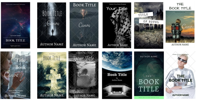 Premade Covers Thriller or Science Fiction