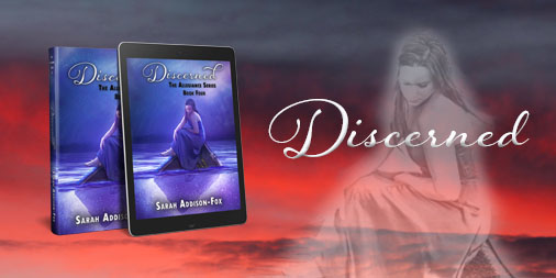 Discerned Cover Reveal Graphic